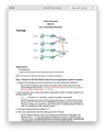 CSIS 331 Lab 13 Subnetting Worksheet (Liberty University)
