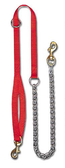 "3/4"" X 56"" Nylon & Chain 1 Dog Lead"