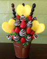 Chocolate Strawberries & Pineapple Hearts