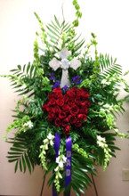 christian funeral flowers