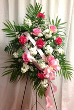 funeral easel
