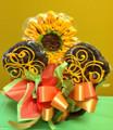Sunflower Surprise Cookie Bouquet