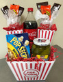 Movie Time Gift Basket