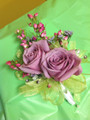 Double Rose Corsage