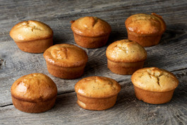 Orange poppy friands