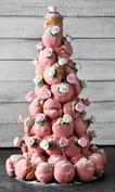 Classic Pink Croquembouche