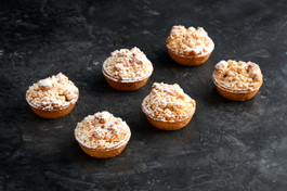 6cm Apple Crumble Tarts