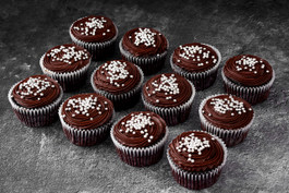 Chocolate cupcakes delivered in Sydney