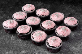 Pink cupcakes sydney delivered