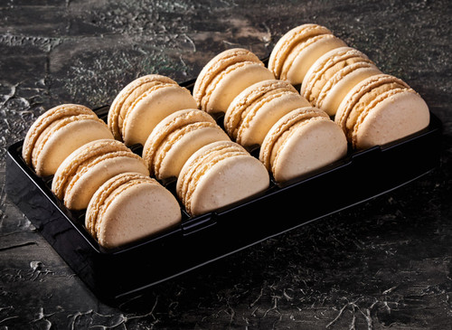 Butterscotch macarons