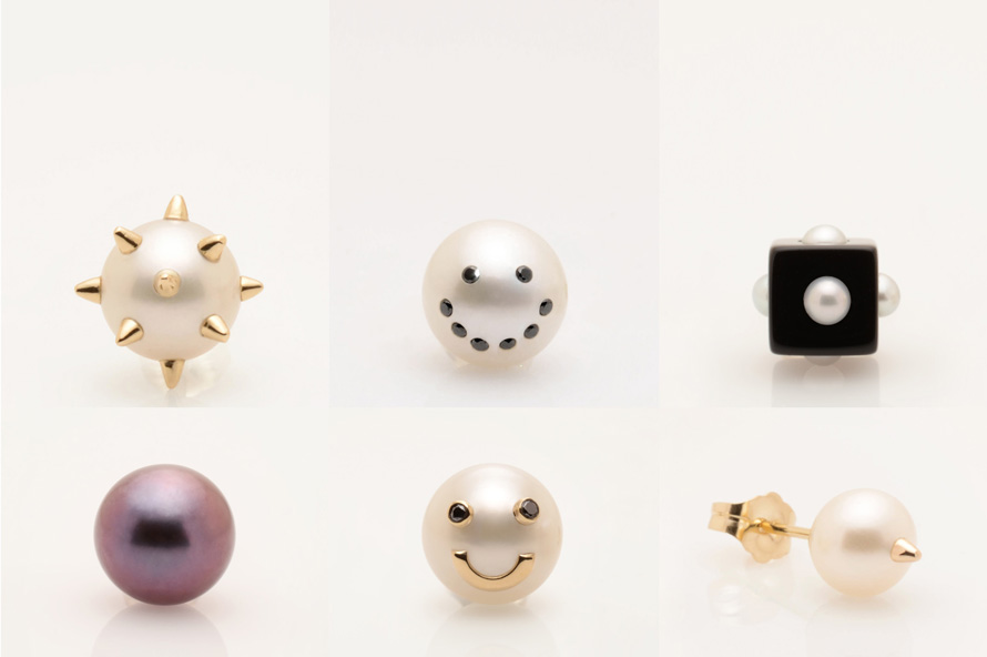 Unique Earrings by Jewelry Designer Nektar De Stagni. Collect them all ! All pieces delicately hand made in the USA with the finest authentic pearls, gold, silver, and diamonds :)