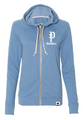 Champion - Originals Women's French Terry Hooded Full-Zip - AO650 - Blue Jazz