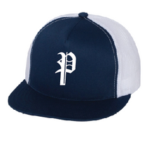 Snap-Back Yupoong - Baller2 Classic Trucker Cap- ONE SIZE (Navy / White)