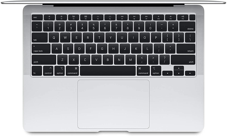 MacBook Air 2020 Top view silver