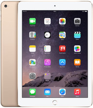 Apple iPad Air 2 with Retina Display MH0W2LL/A (16GB, Wi-Fi, Gold/White)