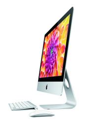 Apple iMac 21.5-Inch w. SSD - Solid State Drive (3.1Ghz Quad Core i7, Nvidia GT 750M 1GB, 8GB RAM, 256GB SSD, Thunderbolt 2)