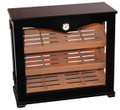 Commercial Large Vertical Display Humidor 150 Count