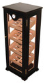 Commercial Tall Vertical Display Humidor 100 Count