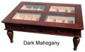 The Classic Coffee Table 400 Count Humidor
