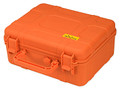Cigar Caddy 40 Count Travel Humidor Safety Orange Blaze