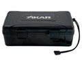 XiKAR 210Xi X10 10 Ct. Travel Humidor Black