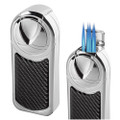 Visol Dobrev 5 Jet Torch Table Lighter Carbon Fiber
