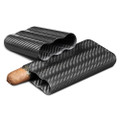 Carbon Fiber 3 Finger Cigar Case