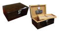 The Princeton Ebony 130 ct. Desktop Cigar Humidor