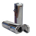 Typhoon 3 Jet Torch Lighter w/ Plug Cutter Silver