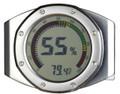 UltraModern Calibration Capable Digital Hygrometer Thermometer Circular