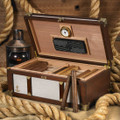 The San Tropez Nautical Inspired 200 ct. Cigar Humidor