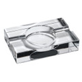 2 Cigar Crystal Heavy Ashtray