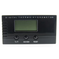 Digital Hygrometer Thermometer Rectangular Black