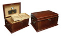 The Caesar 50 ct. Desktop Cigar Humidor