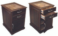 The Santiago 700 ct. End Table Desktop Cigar Humidor