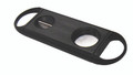 Guillotine & V-Cut Combo Cigar Cutter Black