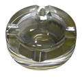 Small Crystal 4 Cigar Cigarette Ashtray