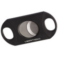 Vertigo by Lotus Big Daddy Guillotine Cigar Cutter Black 80 Ring