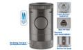 XiKAR Volta Quad Flame Lighter Gunmetal