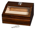 Admiral Walnut Finish Humidor - Holds Up To 40 Cigars