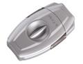 XiKAR VX2 V-Cut Cigar Cutter Silver 157SL