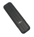 Gordo Matte Carbon Fiber 2 Finger Cigar Case
