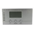 Digital Hygrometer Thermometer Rectangular Silver Satin