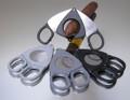 Credo XXL Compact Scissor Cigar Cutter 70 Ring Black