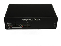ASDQMS 2-port GageMux USB universal gage interface