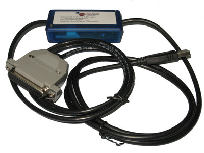 ASDQMS SmartCable with Keyboard Output for Testing Machines (TMI) 49-60 Series Micrometer
