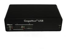 ASDQMS 2-port GageMux for GagePort Emulation