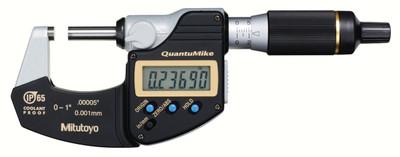 ASDQMS Mitutoyo QuantuMike 293-180-30 Coolant Proof Micrometer