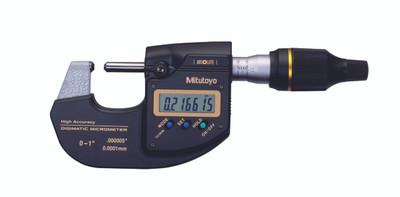 ASDQMS Mitutoyo 293-130-10 MDH High-Accuracy Sub-Micron Digmatic Micrometer