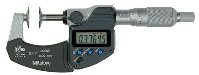 ASDQMS Mitutoyo 323-350-30 IP65 Disk Micrometer
